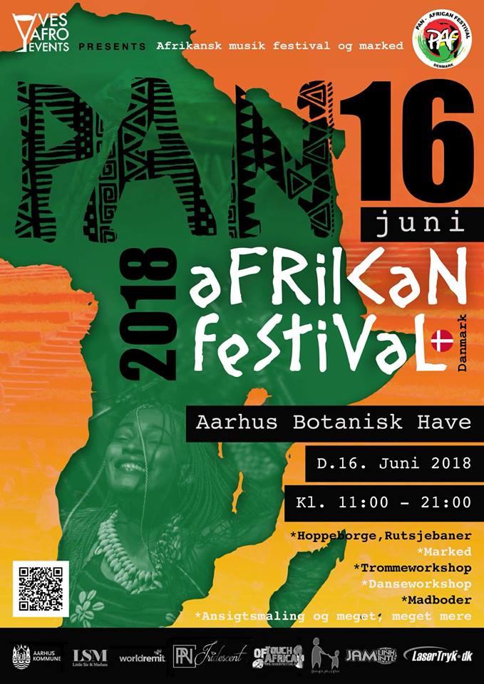 2018 Panafest in Aarhus a success in spite of rain